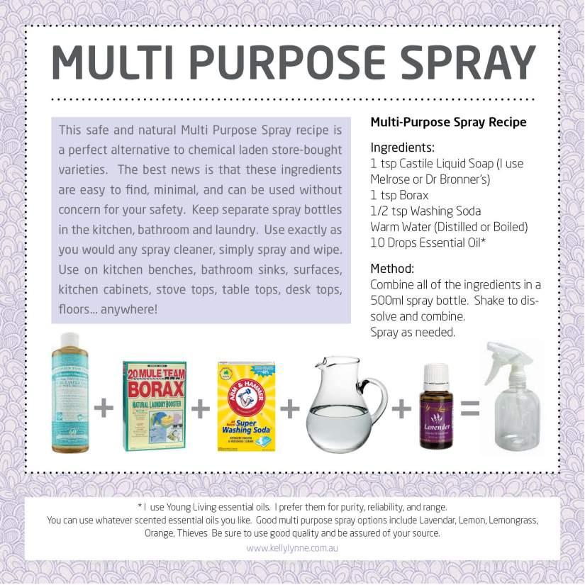 Multi Purpose Cleaner poster